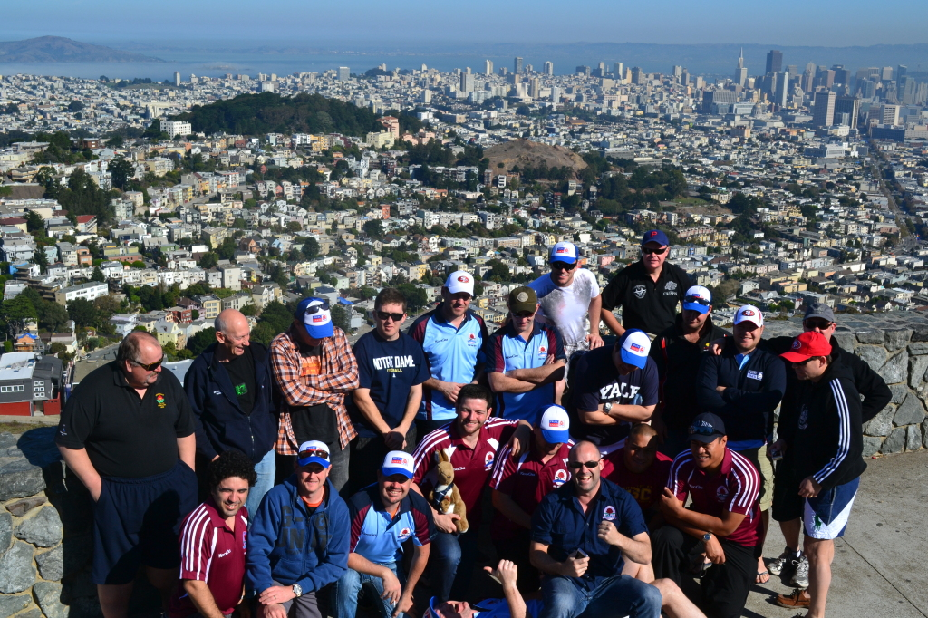 Rugby Team in San Francisco